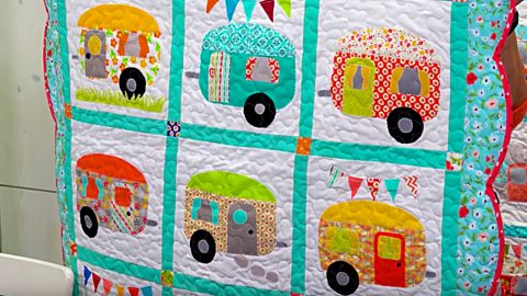 Make A Camper Quilt With Jenny Doan | DIY Joy Projects and Crafts Ideas
