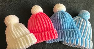 How To Crochet A Baby Hat