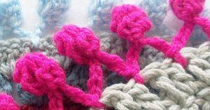 How To Crochet A Pom Pom Border