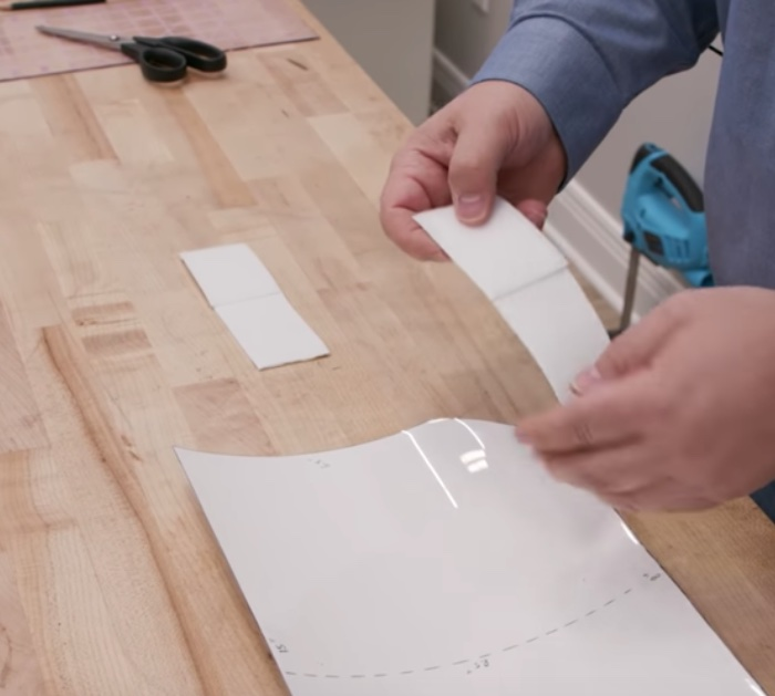 Make a face shield mask with a sailrite industrial sewing machine