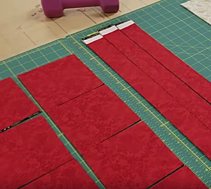 Make a galaxy quilt with fat quarters