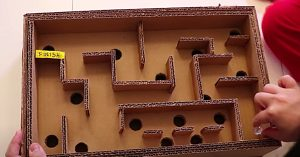 How to Make A Maze Board Game From Cardboard