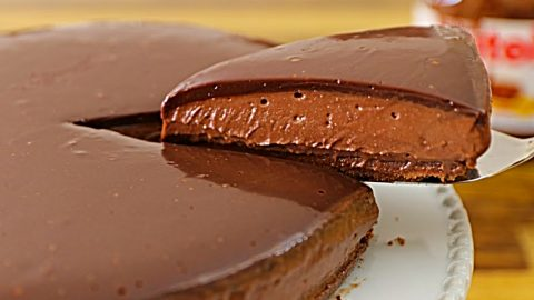 No-Bake Nutella Cheesecake Recipe | DIY Joy Projects and Crafts Ideas
