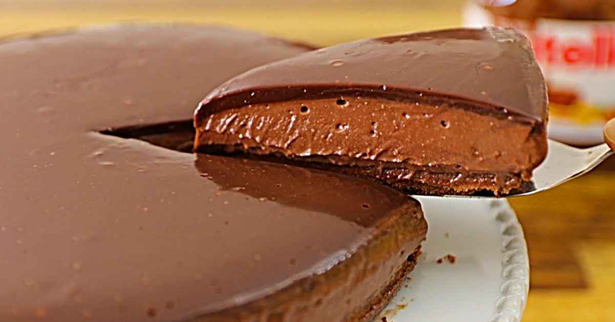 Make a no bake Nutella cheesecake