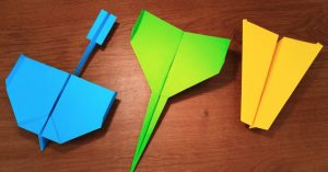 How To Make 5 Paper Airplanes That Fly Far