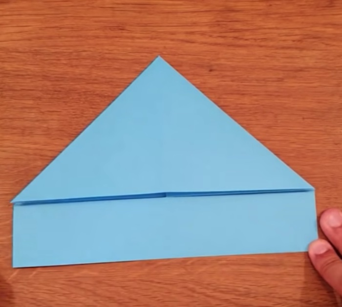 Make airplanes out of cardstock paper that fly
