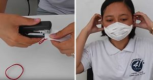 How to Make An Improvised Paper Towel Face Mask