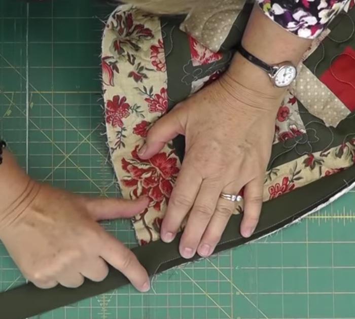 Jenny Doan quilt binding so perfect
