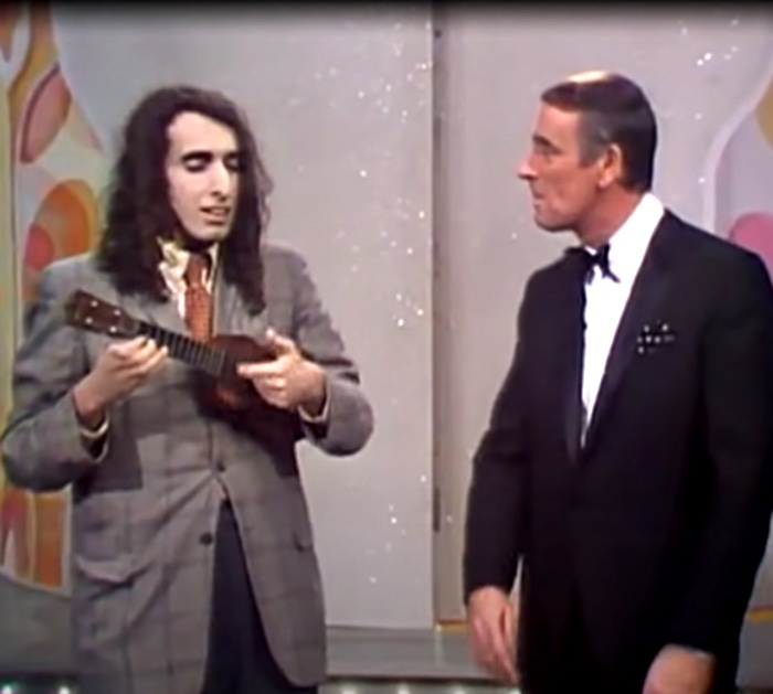 Tiny Tim on Rowan and Martin's Laugh In