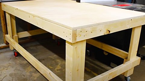 How To Make A 1 Hour Workbench | DIY Joy Projects and Crafts Ideas