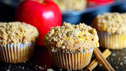 Cinnamon Apple Muffins Recipe | DIY Joy Projects and Crafts Ideas