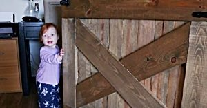 How To Make A Baby Gate (Or Dog Gate)