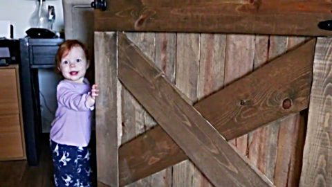 How To Make A Baby Gate (Or Dog Gate) | DIY Joy Projects and Crafts Ideas