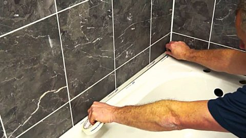 How To Apply Silicone Caulk To Tile Or Bath | DIY Joy Projects and Crafts Ideas