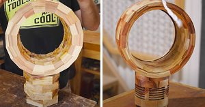 How To Make A Bladeless Wooden Fan From Scrap Wood