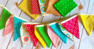 How To Sew A Bunting Banner