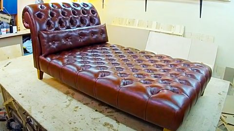 How To Make A Chaise Lounge   DIY Joy Projects and Crafts Ideas
