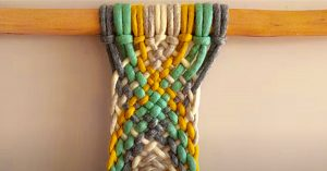 How To Make A Continuous Weave Macrame