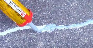 How To Repair Cracks On Sidewalks and Driveways
