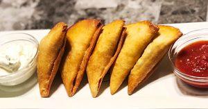 Fried Stuffed Taco Samosas Recipe
