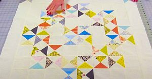 How To Make An Hourglass Quilt Block