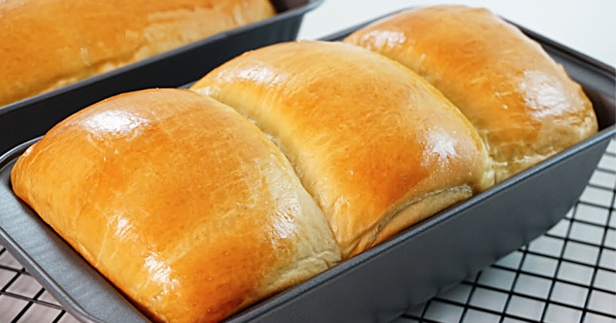 Homemade Milk Bread Loaf Recipe