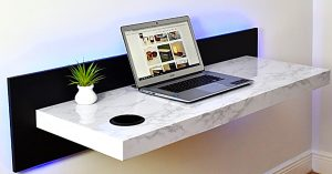 How To Make A Modern Wall-Mounted Desk