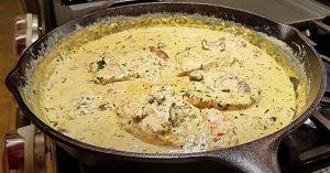 One-Pan Garlic Chicken Recipe