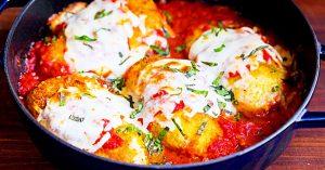 Stuffed Chicken Parmesan Recipe With A Gluten-Free Option