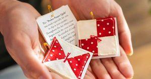 How To Make A Pocket Prayer Quilt