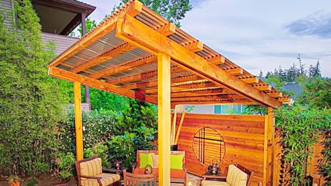 13 Backyard Privacy Ideas | DIY Joy Projects and Crafts Ideas