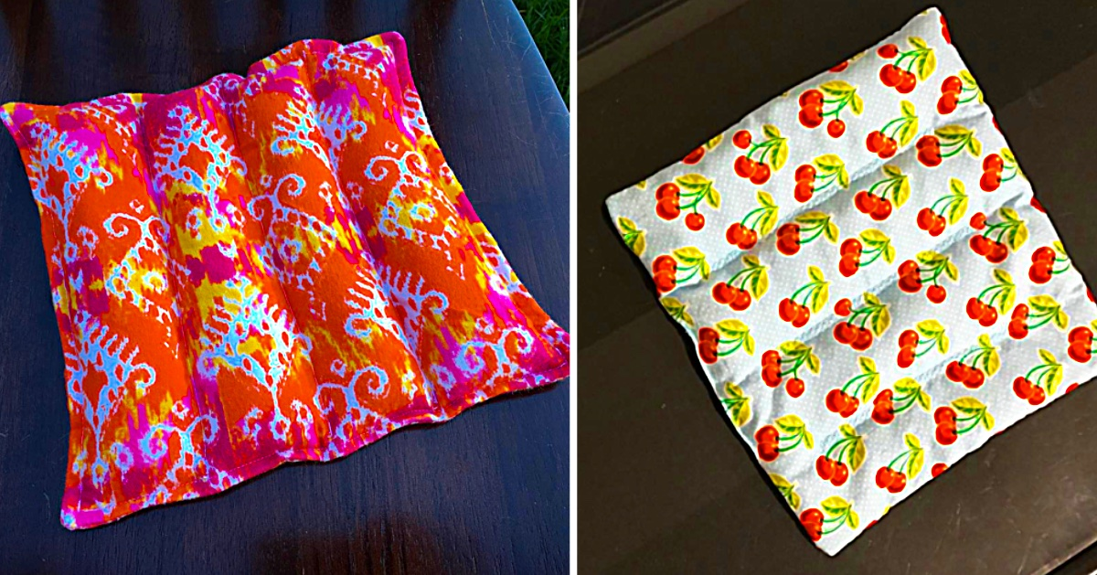 Sewing Idea Make A Rice Filled Trivet