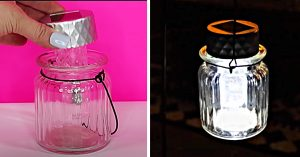 How To Make Lanterns From Dollar Tree Solar Lights