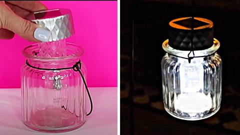 How To Make Lanterns From Dollar Tree Solar Lights | DIY Joy Projects and Crafts Ideas