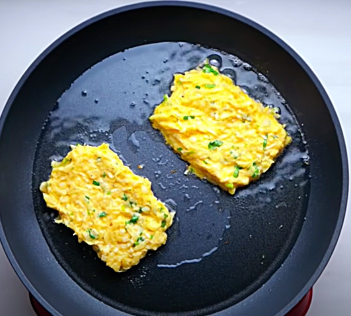 Grate fresh potatoes to make spicy hash browns with chili and cilantro