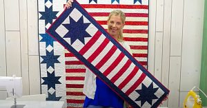 How To Make A Stars And Stripes Table Runner