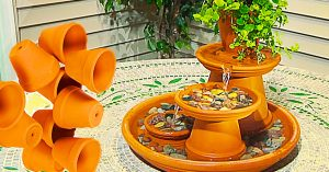 How To Make A Terracotta Fountain
