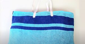 How To Make A Towel Tote Bag