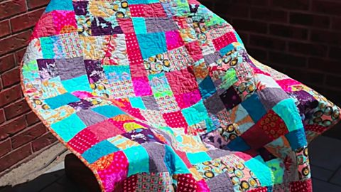 5 Ways To Use Ugly Fabric (Free Pattern Included) | DIY Joy Projects and Crafts Ideas