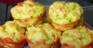 Zucchini Cheese Muffin Recipe