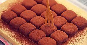 2-Ingredient Condensed Milk Truffles Recipe