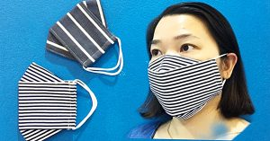 How To Sew A 3D Mask In 4 Minutes
