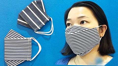 How To Sew A 3D Mask In 4 Minutes | DIY Joy Projects and Crafts Ideas