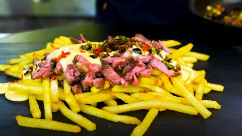 How To Make Cheesesteak Fries | DIY Joy Projects and Crafts Ideas
