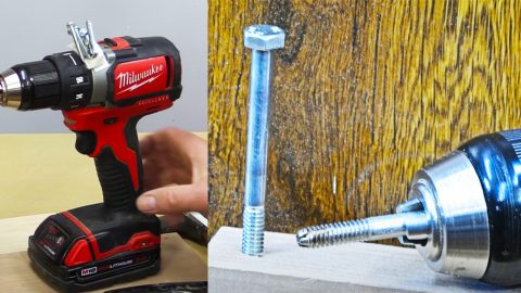 6 Cordless Drill Hacks | DIY Joy Projects and Crafts Ideas