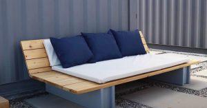 DIY Outdoor Lounge Sofa