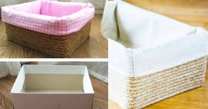 How To Make A Cardboard Organizer Box