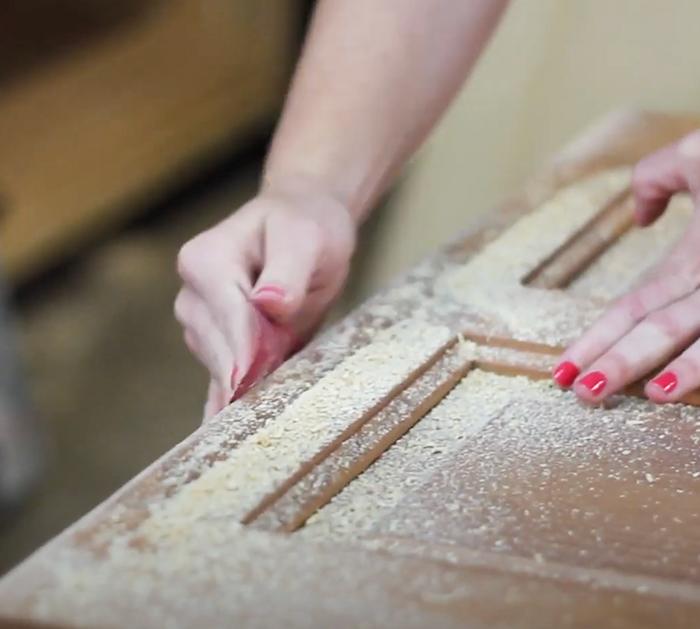 How To Build A Headboard With An Old Door   DIY Hacks