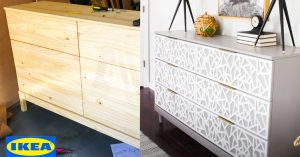 How To Makeover An IKEA Tarva Dresser
