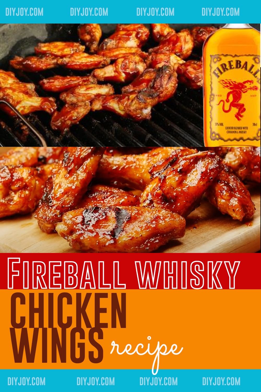 Fireball Whisky Chicken Wings Recipe